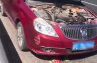 小伙用两个大西瓜成功阻止汽车自燃,这办法值得效仿吗?