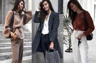 今年流行大女人风,干练利落的秋季穿搭,诠释女人的力量感