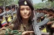 各国阅兵时的女兵方阵,白花花的,法国女兵最动人,印度最...