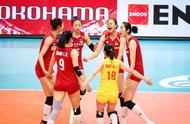 恭喜,中国女排战胜韩国