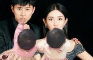 张杰双胞胎女儿参加演唱会,一家人互动非常有爱,首次萌音首秀