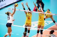 美国女排第2或都不保!中国女排赛程分析:击败一队冠军彻底稳了