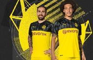 多特发布欧冠球衣:黑黄配色 亮眼炫酷