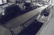 街头飙车撞坏11辆豪车损失上百万英镑 居民:听声音以为直升机坠毁