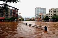 乐山遭遇大暴雨袭击 直接经济损失超2亿元