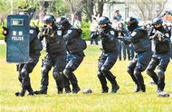 梅州公安全警实战大练兵