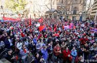 华侨华人在悉尼举行爱国护港和平集会