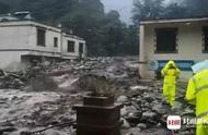 2人失联3人被困!汶川发生泥石流,成都至阿坝多路段中断