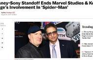 蜘蛛侠可能退出漫威电影宇宙