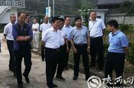 辽宁省人大和生态环境厅来山阳调研农村环保工作