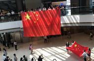 燃!香港中环上千民众快闪唱国歌:有多大声就唱多大声