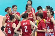 女排世界杯:中国队战胜韩国队