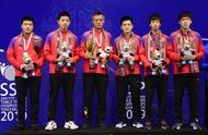 乒乓球丨亚锦赛:中国男队夺得冠军