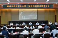 湖南省政协常委、著名主持人汪涵任湖南省监察委特约监察员
