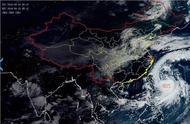 """周末又要""""泡汤""""!台风""""塔巴""""或于周日中午越过上海同纬度"""