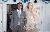 向佐郭碧婷婚礼现场照曝光 向太称只有几位亲人参加婚礼
