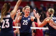 日本女排2比3惜败美国,中美女排对决同等起跑线