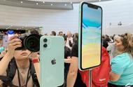 更多配色选择 iPhone 11发布会现场上手图赏