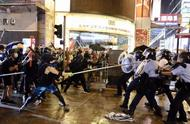 Evening of yesterday of Hong Kong police arrests 3