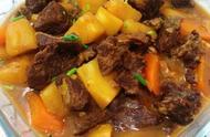 家常下饭菜,土豆炖牛肉,做法简单,美味可口,吃不腻的家常菜