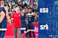 单节7分,美国男篮梦之队创历史最差战绩,将争夺世界杯第七名