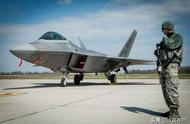 机头破损垂尾开裂,美军F22:我不是你想象中的隐形战机