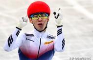 官宣,韩国4冠王击败中国队长奥运夺冠,却扒队友裤子被禁赛一年