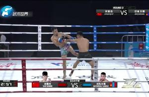 中国小伙力战蒙古悍将,实力相差悬殊被对手重拳连击,倒地不起!