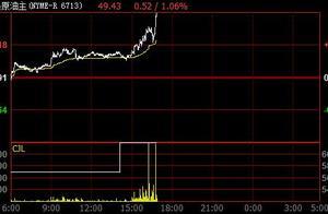 快讯:原油短线急速回升 美油布油双双拉升逾1%