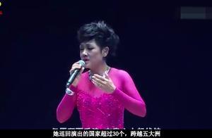 叶丽仪的《上海滩》荡气回肠,气势磅礴,一般人真唱不了!