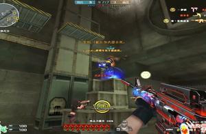 穿越火线:雷神暗月极限刀僵尸,玩家问道你是主播嘛!