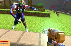 GMOD游戏杰瑞鼠能打过欧布奥特曼吗?