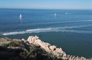 八仙过海处,海边蓬莱阁,传说中的仙境,看看有多美