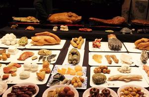 """有鱼有肉有荤有素,看看昆明这桌""""石头宴""""能值几个亿?"""
