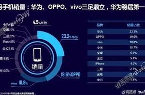 华为 OPPO vivo稳居前三!迪信通8月销量报告发布