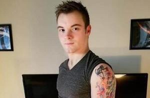 外国小伙手臂上纹了些汉字,并将照片传上网,把中国网友们逗乐了