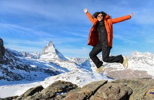 """一场暴雪让著名的""""瑞士山王""""火了,马特宏峰有多美,图片告诉你"""