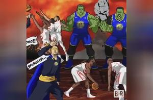 B/R动画:勇士淘汰火箭,晋级NBA总决赛!