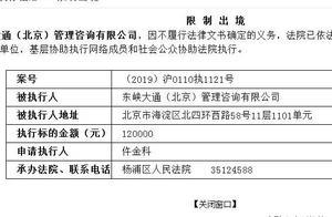 不履行法律义务 ofo法定代表人陈正江被限制出境