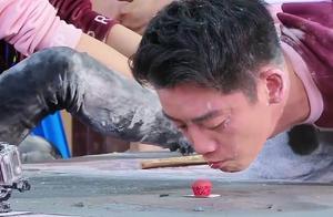 奔跑吧:兄弟团为救李晨拼尽全力,沙溢不惜说老婆胡可是男生