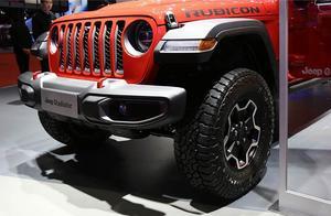 上海车展最靓的仔 实拍全新Jeep角斗士 详细了解下这款越野玩具