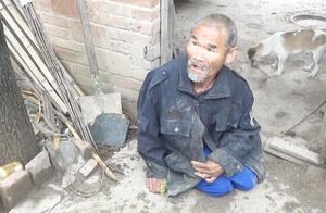 在这位农村老人的脸上我们看到了,人生最珍贵的两个字