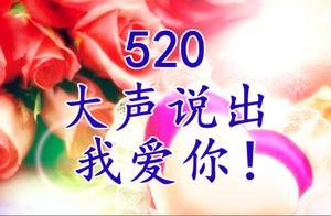 今天5.20情人节,送你520朵玫瑰,520个祝福,爱就大声说出来!