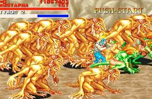 恐龙快打:整个屏幕都被BOSS占满了 没法玩了