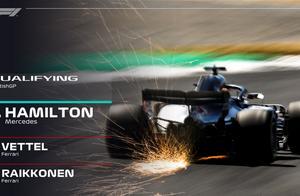 F1英国站排位赛:汉密尔顿夺得杆位 维泰尔赢得前排