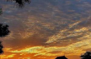 北京最美晚霞刷屏朋友圈!未来七天都是蓝天美景