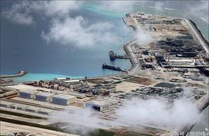 我国南沙群岛渚碧岛,现在岛上有400座独立建筑物