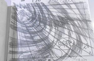 《龙珠Z》人造人篇《反击无效!比克用尽全身的力量》设计线稿