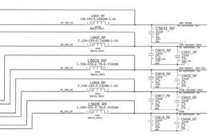 iPhone7基带电源芯片损坏导致无基带故障维修
