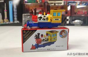 合金车分享:多美卡东京迪士尼限定版玩具总动员小火车